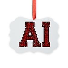 AI, Vintage Ornament