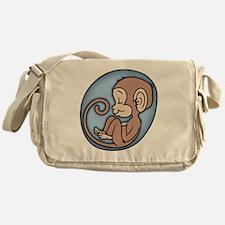 monkey-womb-T Messenger Bag