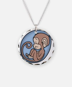 monkey-womb-T Necklace