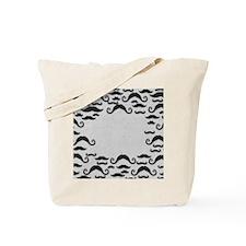 Mustache Frame Tote Bag