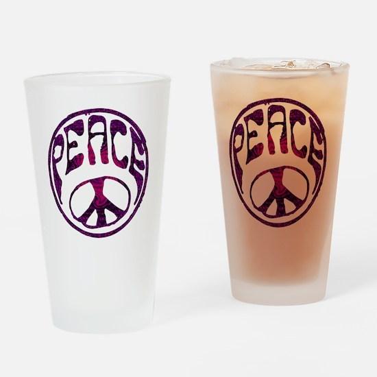 deep peace Drinking Glass