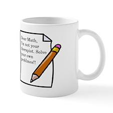 Math shirt Mug