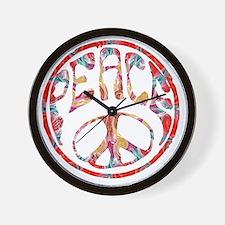 smooth peace Wall Clock