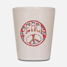 smooth peace Shot Glass