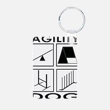 Agility Dog Keychains