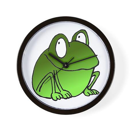 Freaky Frog Wall Clock