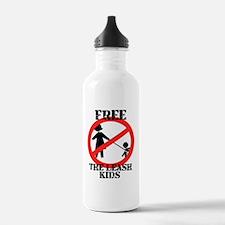 Free the leash kids Water Bottle