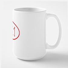 halfmarathon shirt-red Mug
