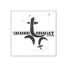 """shahid bhagat singh Square Sticker 3"""" x 3"""""""