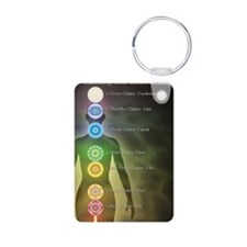 Chakra Energy Centers Keychains