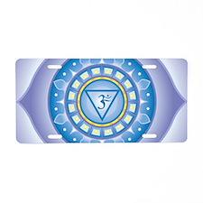 Third Eye Chakra Aluminum License Plate
