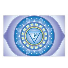 Third Eye Chakra Postcards (Package of 8)