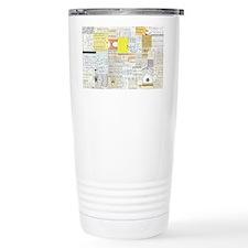 Slide Rule Wallpaper Travel Mug