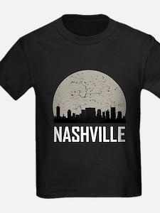 Nashville Full Moon Skyline T-Shirt
