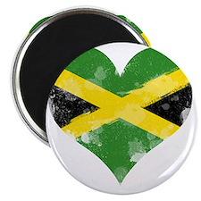 A Jamaican Heart Magnet