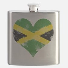 A Jamaican Heart Flask