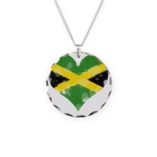 A Jamaican Heart Necklace