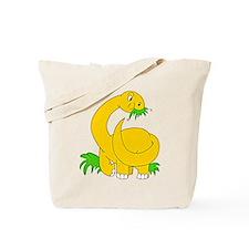 Baby Brontosaurus Dinosaur Tote Bag