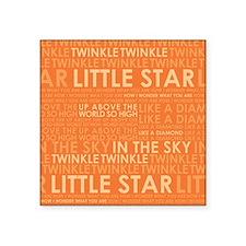 """twinkle twinkle Square Sticker 3"""" x 3"""""""
