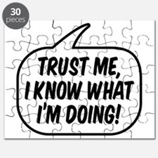 Trust me, I know what I'm doing! Puzzle