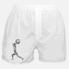 Watercolor Lift in Grey Boxer Shorts