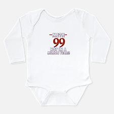 99 years already??!! Long Sleeve Infant Bodysuit
