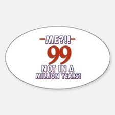 99 years already??!! Decal