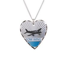 Aircraft Low Wing Necklace