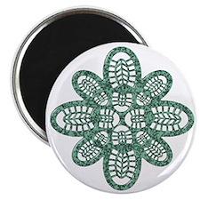 Boot Art Marble Magnet