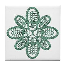 Boot Art Marble Tile Coaster