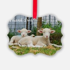 Thank You Cards ~ Buddy Lambs Ornament