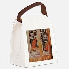 Thank you Teacher Books Canvas Lunch Bag