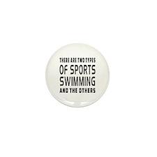 Swimming Designs Mini Button (10 pack)