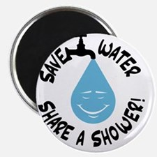 Save Water Share A Shower! Magnet