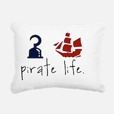 Pirate Life Rectangular Canvas Pillow