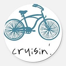 Cruisin Round Car Magnet