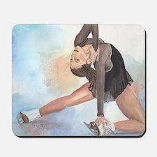 Figure Skating Closure Mousepad