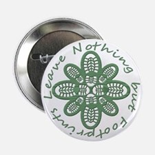 """boot nothing but footprints grn 2.25"""" Button"""