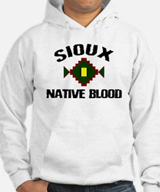 Sioux Native Blood Hoodie