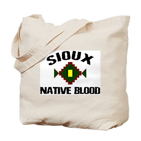 Sioux Native Blood Tote Bag