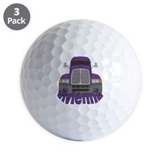 vivienne-g-trucker Golf Ball