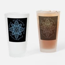Leave Nothing Boot Blu Blk Drinking Glass