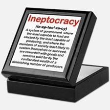 INEPTOCRACY Keepsake Box