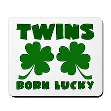 Born Lucky Mousepad