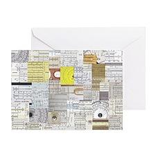 sliderule_wallpaper_200dpi_10in Greeting Card