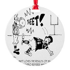 Turbo Referee Whistle Ornament