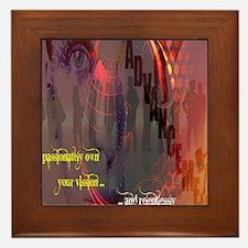 Own Your Vision Framed Tile