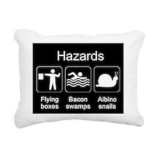Hazards MPad Rectangular Canvas Pillow