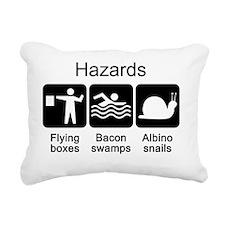 Hazards tshirt Rectangular Canvas Pillow