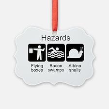 Hazards tshirt Ornament